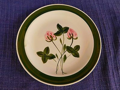 Blue Ridge Southern Sweet Clover BREAD PLATE *have more items* pink & green