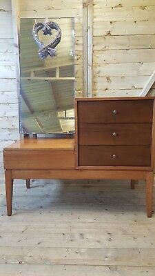 Mid Century Dressing Table By Peter Hayward For Uniflex Danish Design