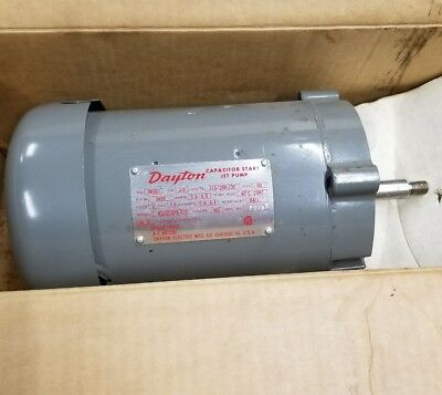 3//4HP 115V Dayton 5PXF8 Jet Tub Pump 3450