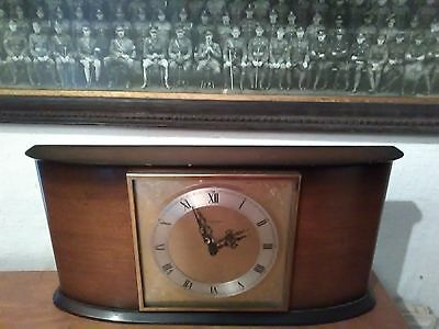 1970`s Tempora Battery Vintage Mantel Shelf clock