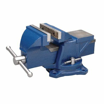"""Heavy Duty Vise Clamps Locking Bar Bench Jaw Opening 4"""" Double Lock Down Swivel"""
