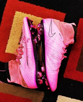 online store 0ac08 95b04 NIKE MERCURIAL VAPOR superfly IV fg size 10 hyper pink soccer cleats CR7