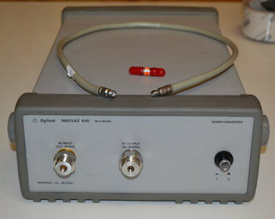 Agilent Keysight N8975AZ-K40 Microwave Downconverter 26.5-40GHz, GOOD for NFA