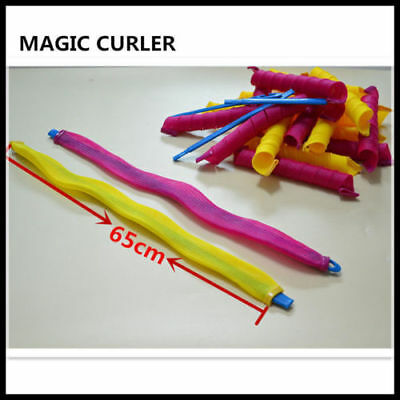 18pcs 65cm long Hair Curlers for Long Hair No Heat Cheap Hot Tools New-65465