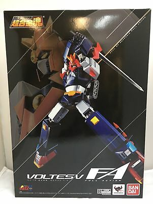 Bandai Soul of Chogokin GX-79 Voltes V F.A Diecast Full Action Figure 18cm