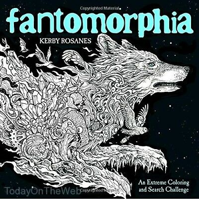 Fantomorphia An Extreme Coloring and Search Challenge by Kerby Rosanes