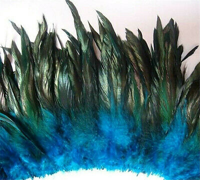 "4-6/"" half bronze  schlappen coque rooster feathers,10+colors to pick 0.7oz 20g"