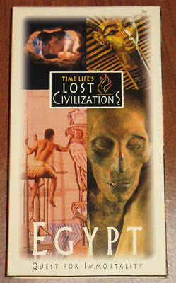 Time Life's Lost Civilizations: Egypt: Quest for Immortality [VHS] Ships Today!