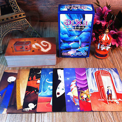 110 PCS Cards Educational Cards Game Family DIXIT Expansion Version Illustration