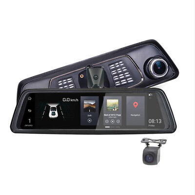 """10"""" Android smart Car DVR Recorder Touch Streaming Video RearView Mirror Camera"""