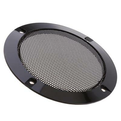 4inch Car Home Speaker Cover Decorative Circle Metal Mesh Grille
