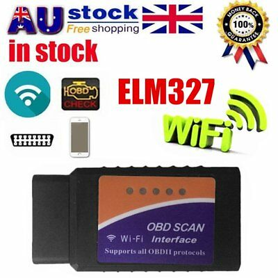 ELM327 WiFi Wireless OBDII OBD2 Car Diagnostic Scanner Code Reader - IOS Android