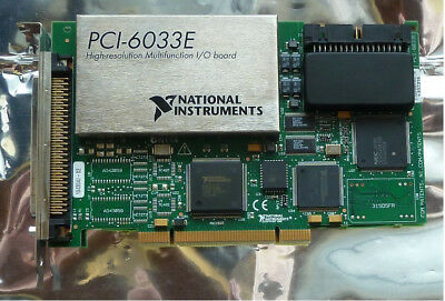 National Instruments NI PCI-6033E