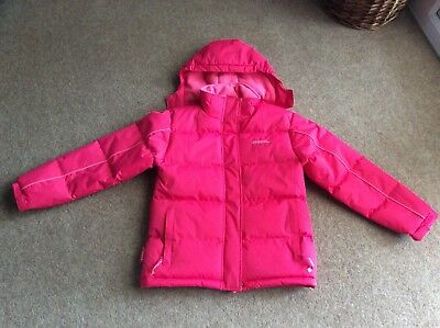 Mountain Warehouse Pink Padded Girls Coat Size 11 - 12