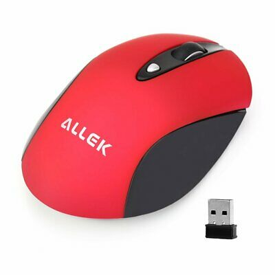 Wireless Mute Mouse With USB Cordless Silence Mice