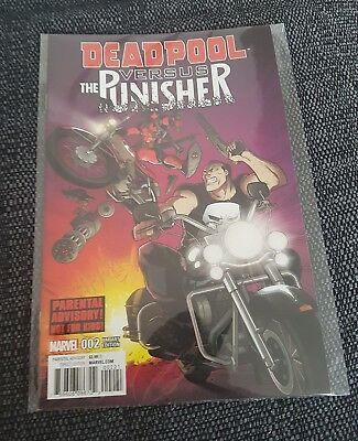 Deadpool vs the punisher 2 nm rare variant