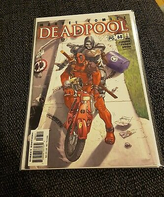 Deadpool 68 nm uber rare volume one