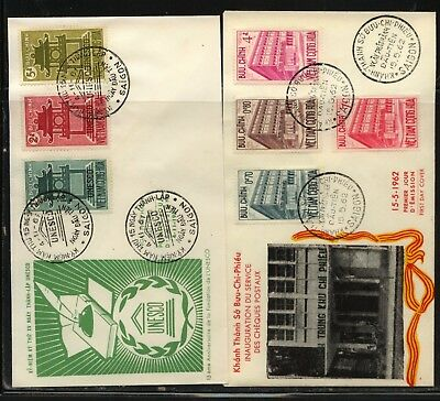 Vietnam  178-80     189-92     cachet  first  day  covers         MS1223