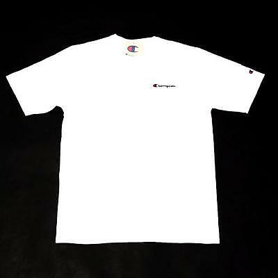 Champion Heritage Tee W/ Script Embroidery Gt19Y06819Whc White