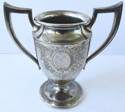 Mini Silver Trophy Goblet Loving Cup Engraved P.s.co.2979
