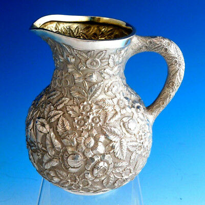 Repousse by Tiffany & Co. Sterling Silver Water Pitcher #10280 / 1251 (#2215)
