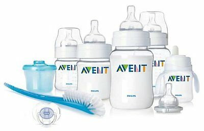 Philips AVENT BPA Free Classic Infant Starter Gift Set Baby Feeding Bottles