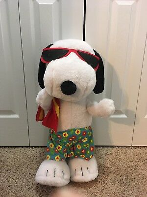 Snoopy Beach Porch Greeter 2010