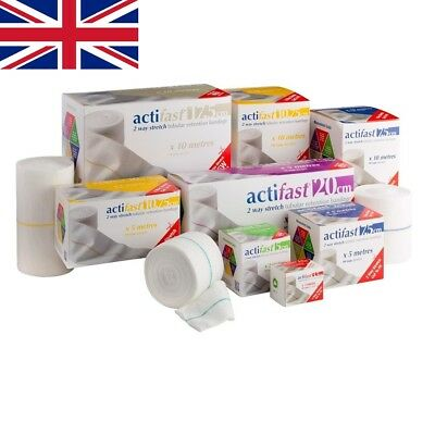 Actifast 2 Way Stretch Tubular Bandage | Choose Size & Length | UK SUPPLIER