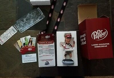 Dr. Pepper Larry Culpepper Bobblehead NEW IN PACKAGE BOX College Football SEC