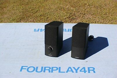 Bose Companion 3 Series Iii Speakers No Power Source - Tested