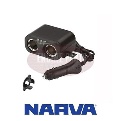 Narva Accessory Sockets With extended Lead & Plug 81046BL #237