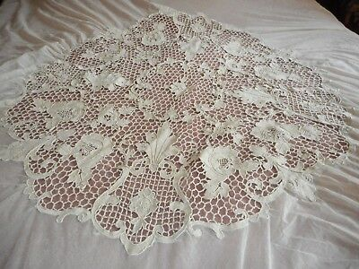 An other outstanding antique lace bedcover