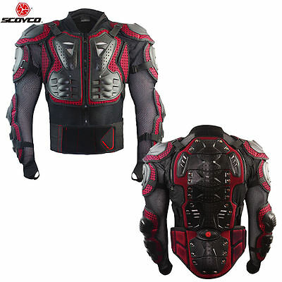 Motorcycle Motocross Body Armour Jacket Chest Guard ATV MX Off-Road Protector