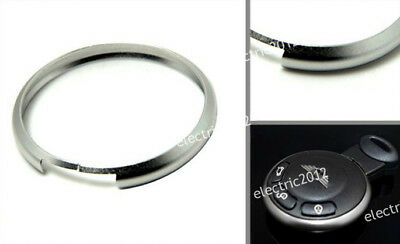 Silver Decor Key Ring Trim Rim For Bmw Mini Cooper Roadster Clubman R56 R57 R60