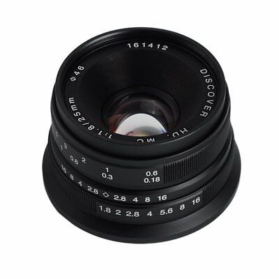 25mm F1.8 HD DISCOVER Manual Focus Wide Angle Lens For Fujifilm FX-Mount X-Mount