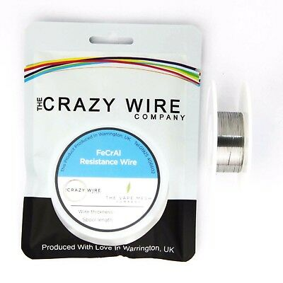 0.5 x 0.1mm Flat Ribbon Comp KA1 (FeCrAl A1) Resistance Wire - 28.69 ohms/m