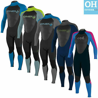 O'Neill 5/4mm Junior Epic Winter Wetsuit Kids 5mm Full Length Teen Youth Surf