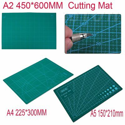 A2A4A5 Double-sided Cutting Mat Self Recovery Mat For Fabric Paper Engraving O5