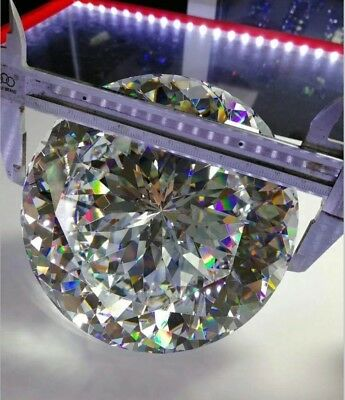 15~100mm Round White AAAAA loose cz stone cubic zirconia gemstone Big Size