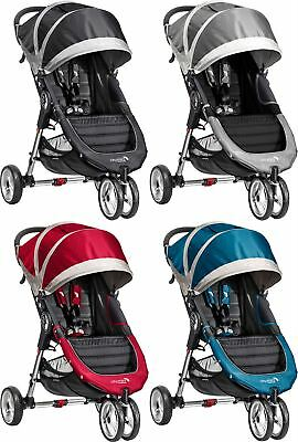 Baby Jogger CITY MINI SINGLE STROLLER/BUGGY/PUSHCHAIR Baby Travel BN
