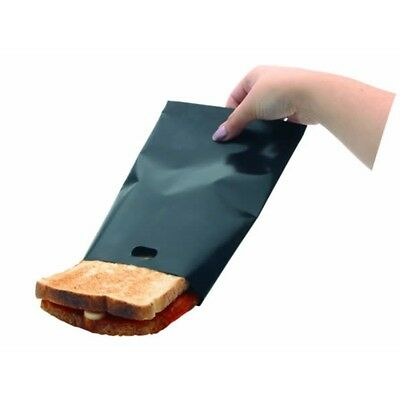 Lot de 2 toastabags panini croque sandwich pain réutilisable lavable PGB2PP