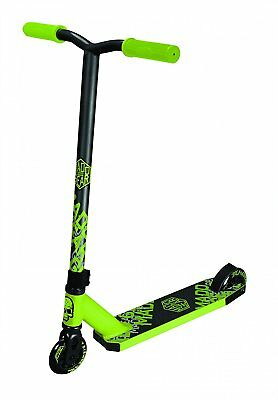 MGP Madd Gear Whip Tacker lime/schwarz 100mm Stunt-Scooter komplett Tret-Roller