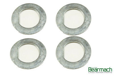 Axle Hub Locking Tab Washers x4 2 Bearmach Brand 3 Land Rover Series 1