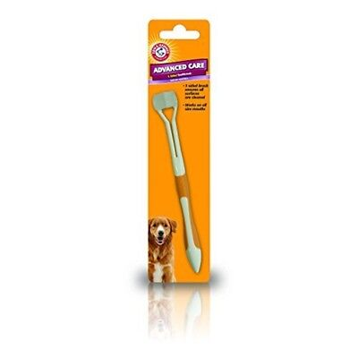 Arm And Hammer 3-sided Toothbrush For Dogs - 3 Sided Dog Dental Care