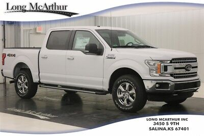 """Ford F-150 XLT 4X4  SUPER CREW CAB SHORT BED TRUCK 4WD MSRP $46085 4WD SUPER CREW PICKUP. XLT CHROME APPEARANCE PACKAGE, 18"""" CHROME-LIKE PVD WHEELS"""