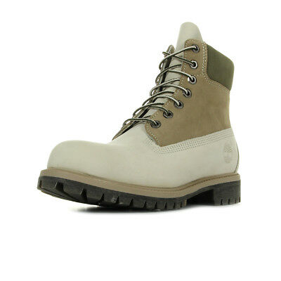 d8521bb12dd4f Chaussures Boots Timberland homme 6 IN Premium Boot taille Beige Nubuck  Lacets