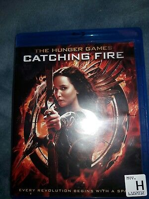 The Hunger Games Catching Fire blu ray dvd