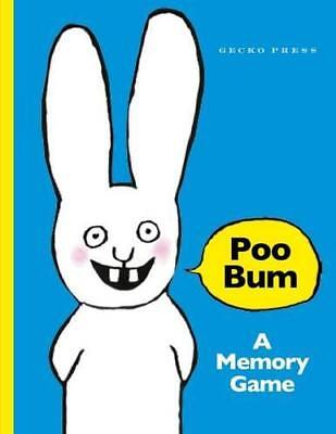 Poo Bum Memory (Card Game) by Gecko Press | Hardcover Book | 9781776571000 | NEW