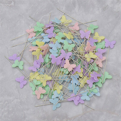 100pcs/box Pins Mixed Colors Sewing Patchwork Arts  Crafts Hand Tool Dressmaking