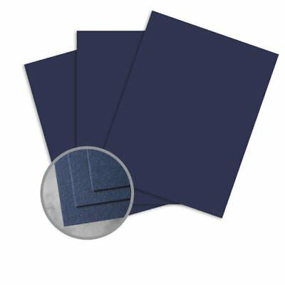 CLASSIC Linen Patriot Blue Card Stock